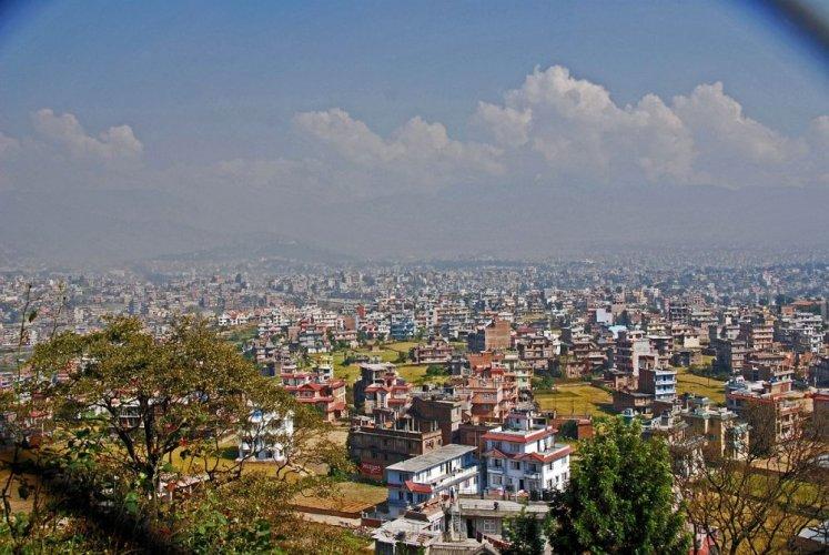 وادي كاتماندو في نيبال