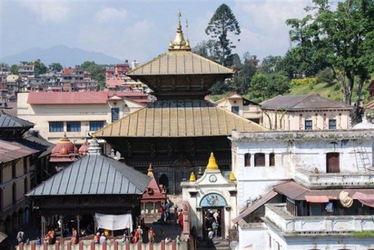 معبد باشوباتيناث Pashupatinath Temple في كاتماندو