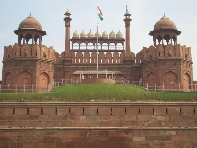 لال قلعه في نيودلهي - الهند