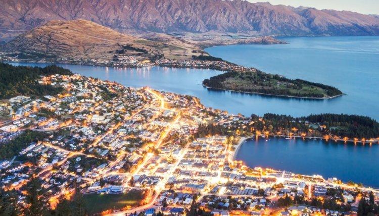 مدينة كوينز تاون في نيوزلندا