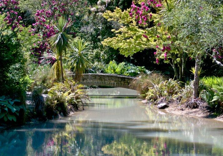 حدائق كنيسة المسيح النباتية في نيوزيلندا