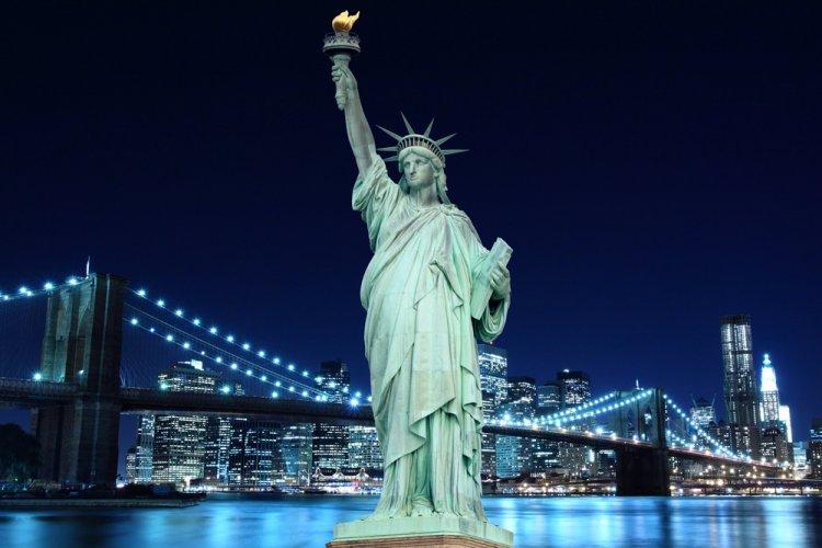 روعة البناء والتصميم في تمثال الحرية