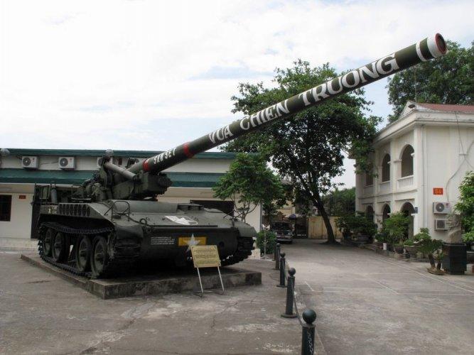 متحف التاريخ الحربي في هانوي - فيتنام
