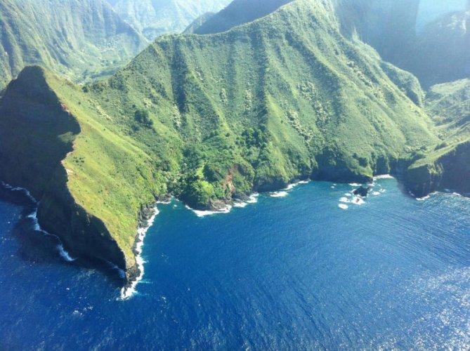 جزيرة مولوكاي في هاواي