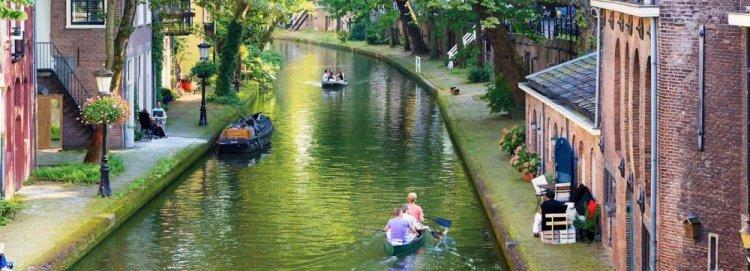 قنوات المائية في اوتريخت هولندا