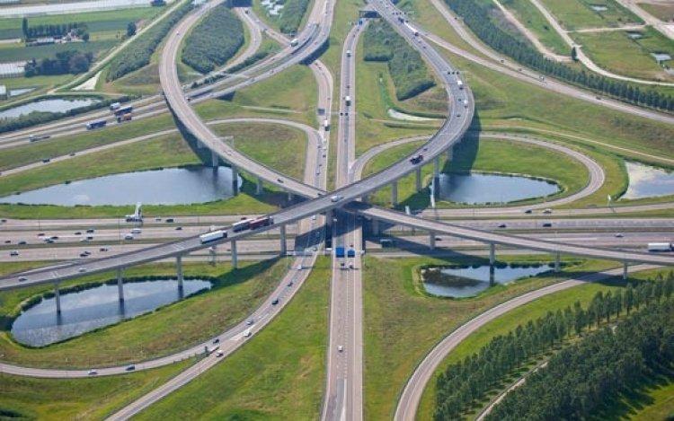 شبكة الطرق في هولندا