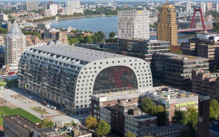 مدينة روتردام في هولندا