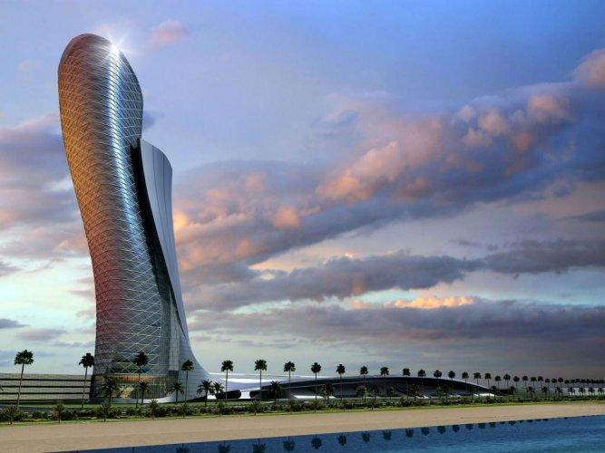 برج أبوظبي المائل