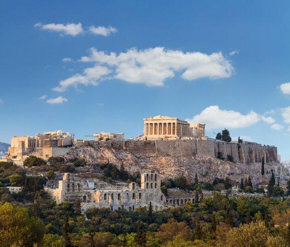 معبد الأكروبوليس في أثينا