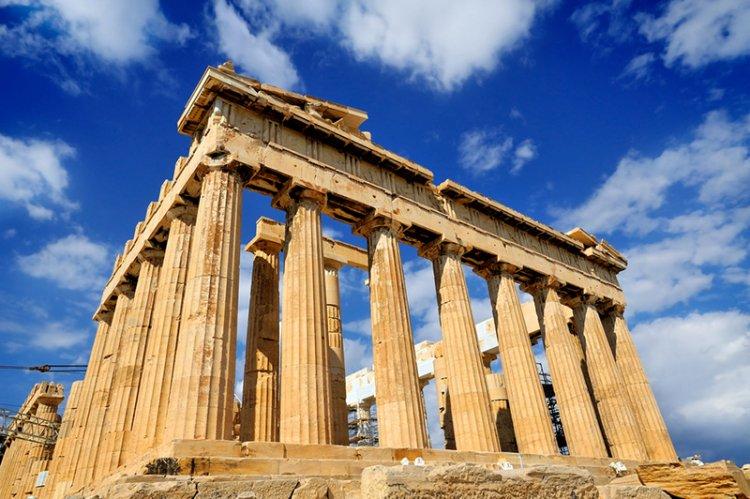 معبد الأكروبوليس في أثينا - اليونان