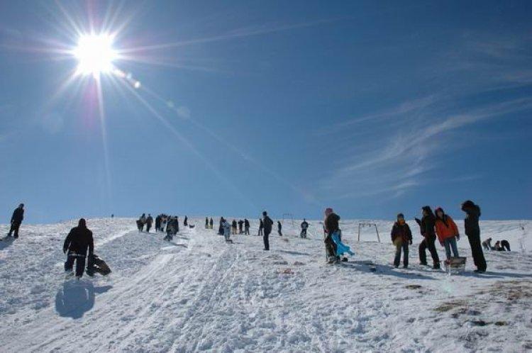 جبل إيلما داغ للتزلج في أنقرة