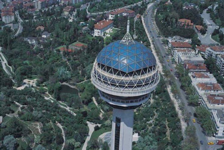 برج أتاكولي في أنقرة - تركيا