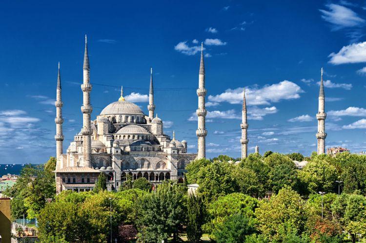 مسجد السلطان أحمد أو الجامع الأزرق اسطنبول