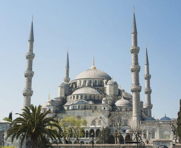 مسجد السلطان أحمد اسطنبول