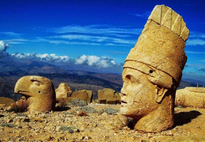 جبل النمرود في تركيا
