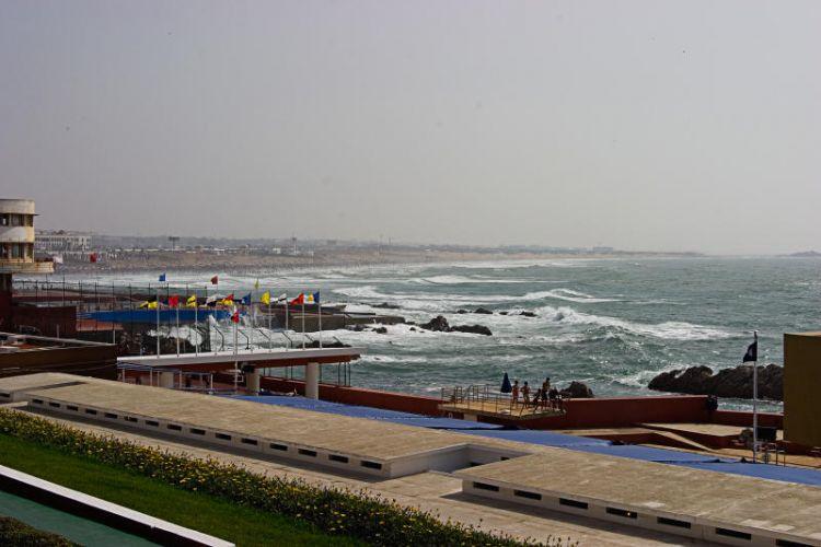 كورنيش عين دياب في الدار البيضاء - المغرب
