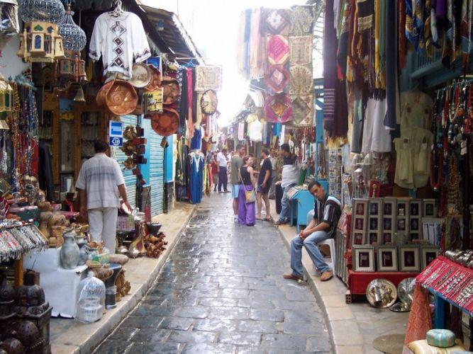 المدينة القديمة في الدار البيضاء المغرب