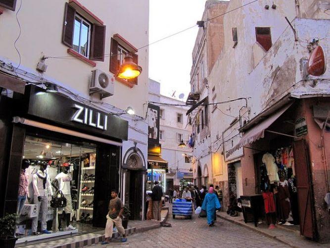 المدينة القديمة في الدار البيضاء