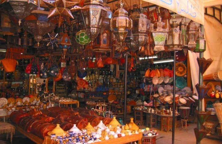 السوق المركزي في الدار البيضاء - المغرب