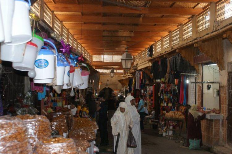السوق المغربي الشعبي