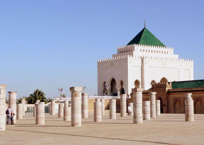 ضريح محمد الخامس في الرباط
