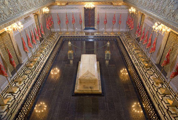 صورة قبر محمد الخامس في الرباط - المغرب