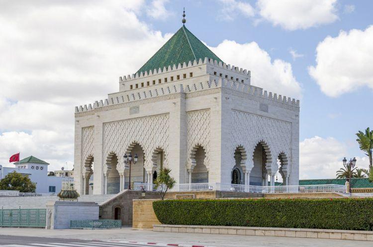 ضريح محمد الخامس - المغرب