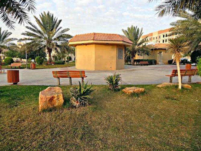حديقة حي المروج في الرياض - السعودية