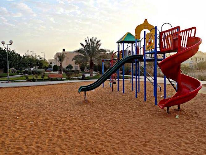 حديقة حي المروج في الرياض