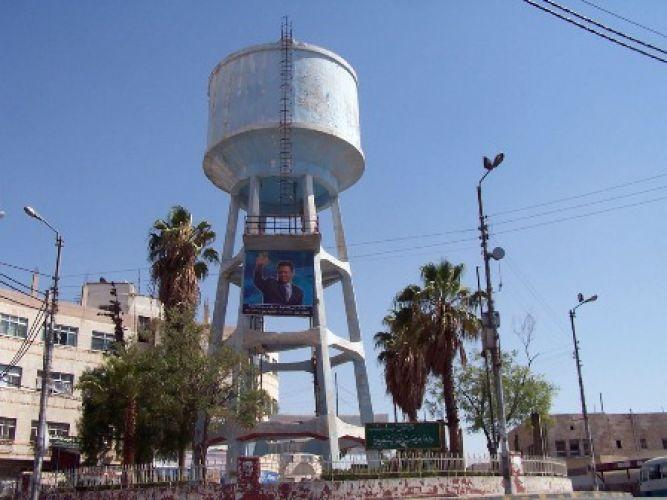 الحاووز أو برج مياه الزرقاء
