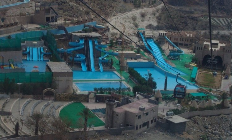 قرية الكر السياحية بالطائف