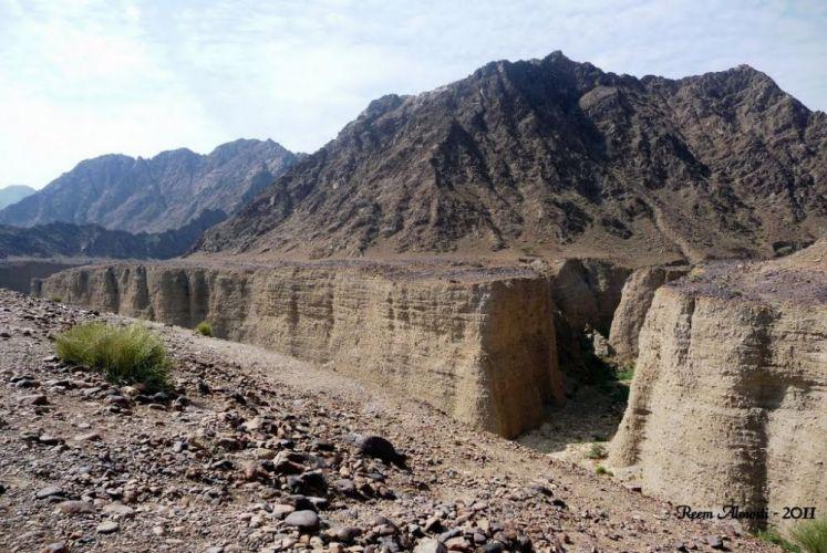 تقع منطقة وادي الوريعة ما بين خورفكان والبدية