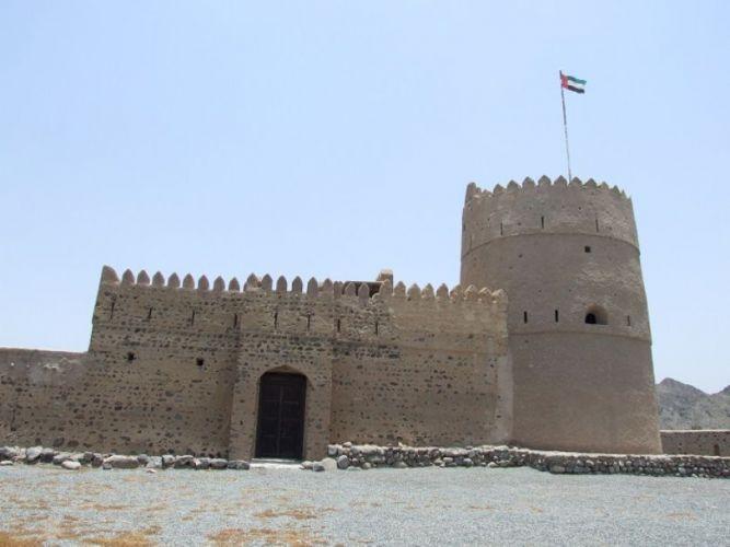 قلعة أوحلة في الفجيرة - الإمارات