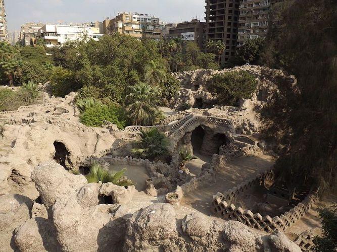 حديقة الأسماك في القاهرة - مصر