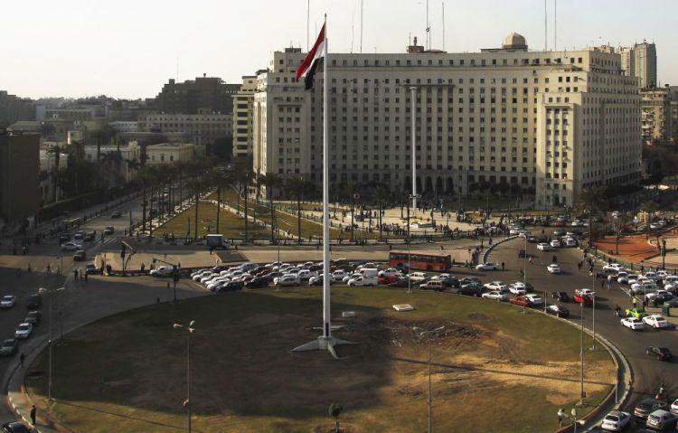 ميدان التحرير في القاهرة