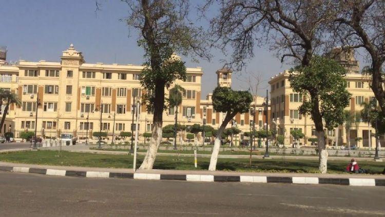 ميدان عابدين من امام قصر عابدين القاهرة