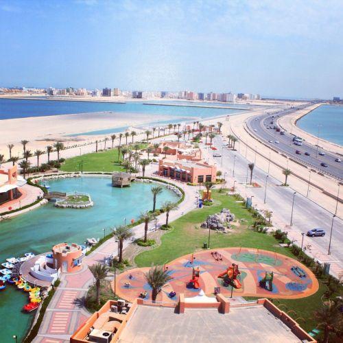 منتزه خليفة بن سلمان في المحرق - البحرين