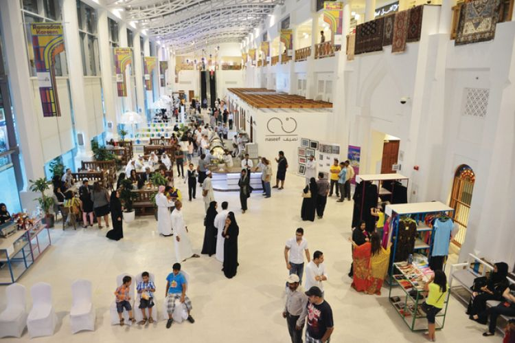 محلات سوق باب البحرين