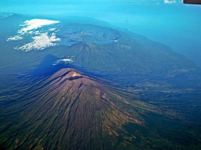 جبل باتور في بالي - إندونيسيا