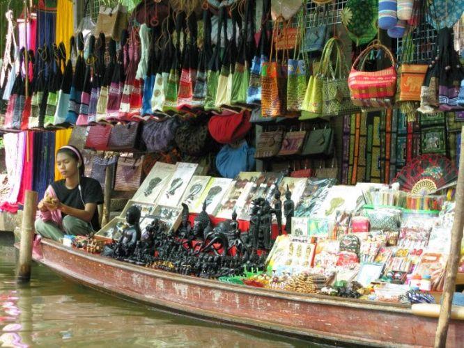 تم تأسيس السوق العائم عام 1967