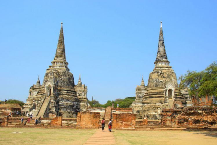 أيوثايا - Ayutthaya في تايلاند