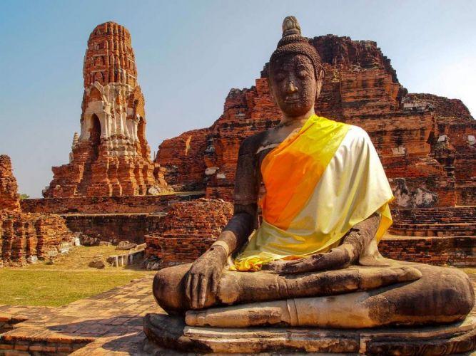 أيوثايا - Ayutthaya في بانكوك - تايلاند