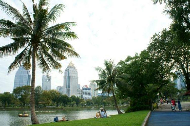 من اجمل حدائق بانكوك