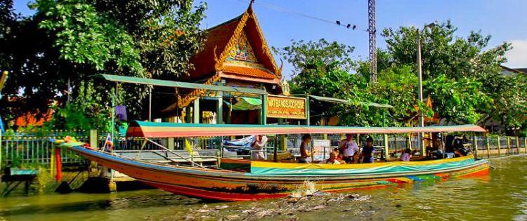 قناة بانكوك في تايلاند