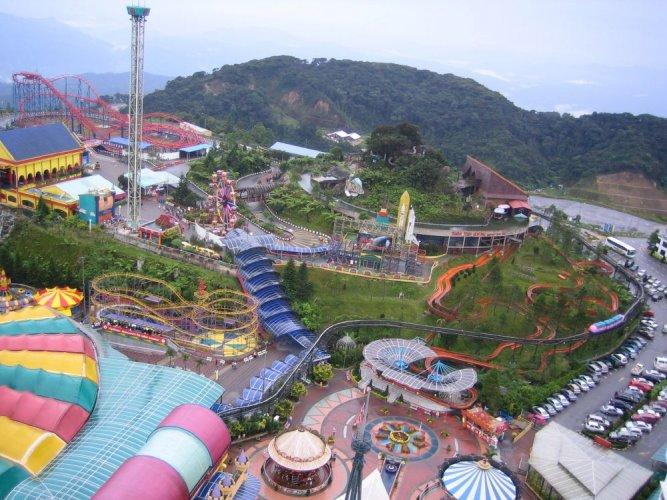 مدينة ألعاب جينتنغ هايلاند ماليزيا في باهانج - ماليزيا