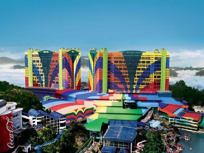 مرتفعات مدينة جينتينج في باهانج - ماليزيا