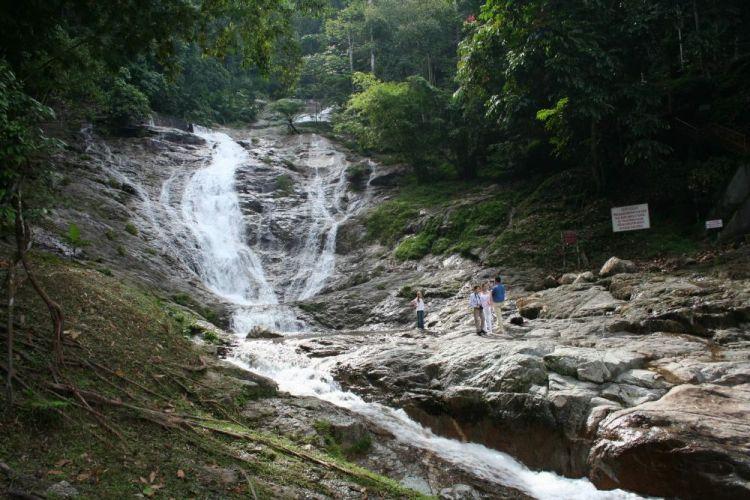 شلالات كاميرون هايلاند في باهانج - ماليزيا