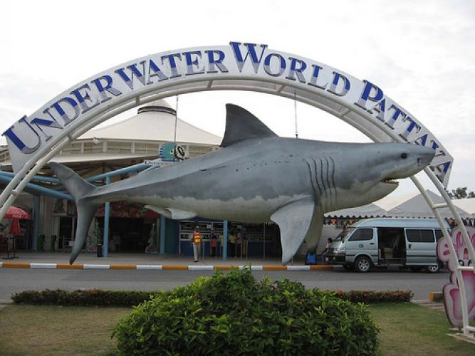 افتتح مركز عالم تحت الماء في عام 2003