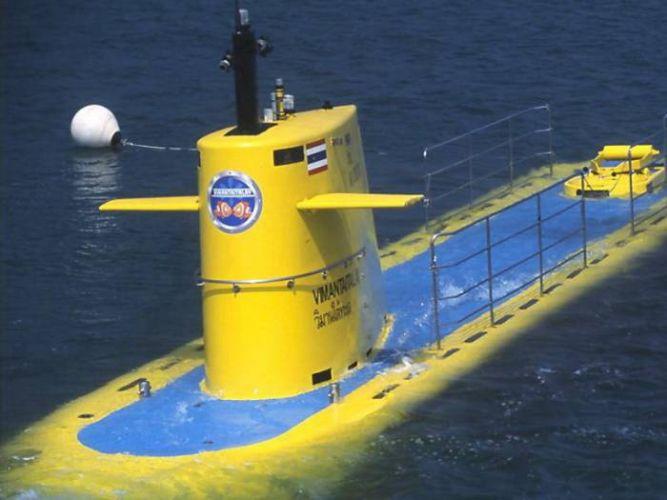 الغواصة الصفراء في بتايا - تايلاند