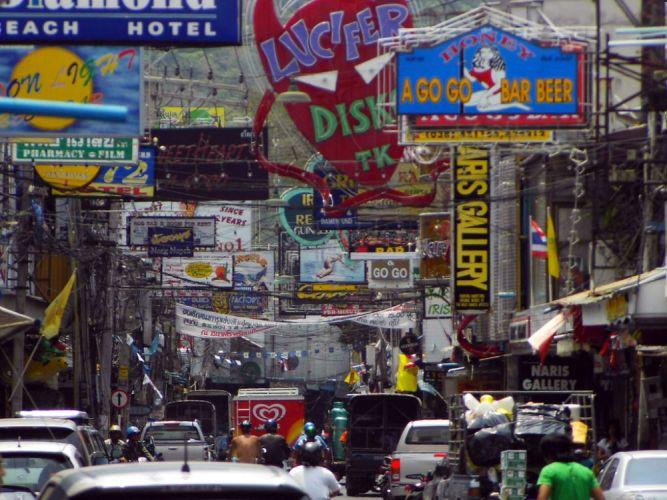 أكثر الشوارع وأكبرها شهرة في تايلاند